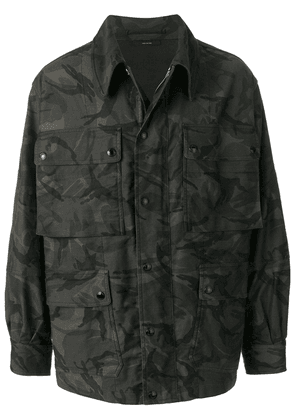 Tom Ford camouflage cargo jacket - Green