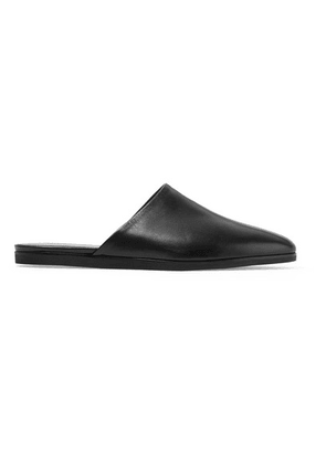 Common Projects - Leather Slippers - Black