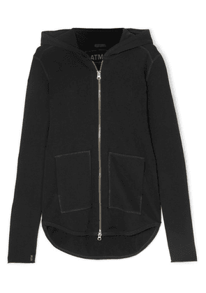 ATM Anthony Thomas Melillo - French Cotton-terry Hoodie - Black