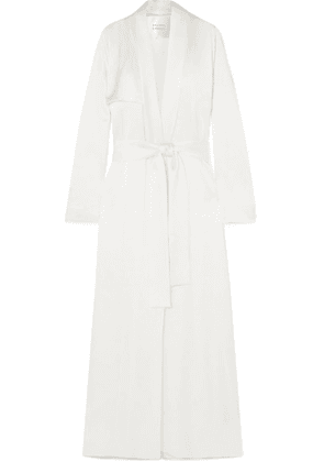 Galvan - Satin Trench Coat - Ivory