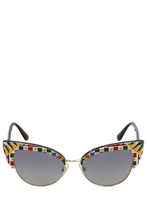 Carretto Print Cat Eye Sunglasses
