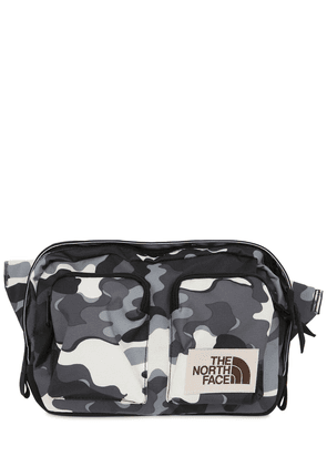Kanga Camo Print Nylon Belt Bag