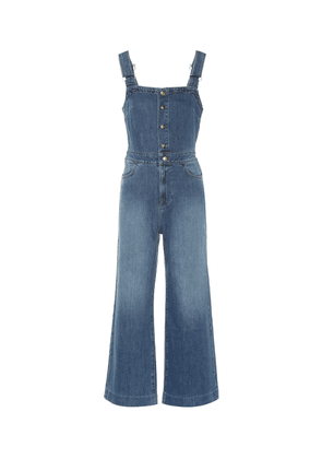 Claire denim jumpsuit