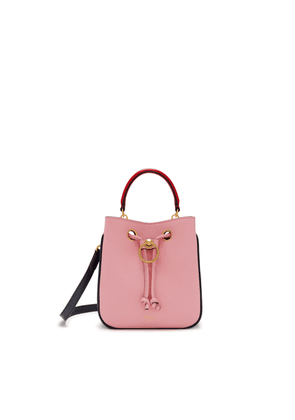 Mulberry Small Hampstead in Sorbet Pink Small Classic Grain