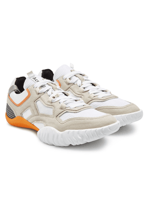Acne Studios Berun Sneakers with Leather and Mesh