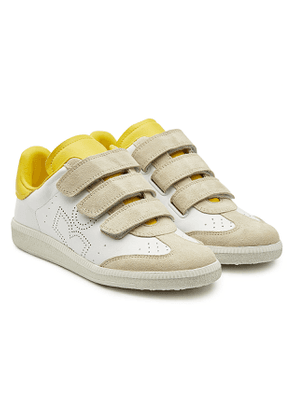 Isabel Marant Beth Leather Sneakers with Suede
