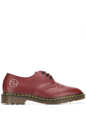 Dr. Martens New warriors derby shoes - Red