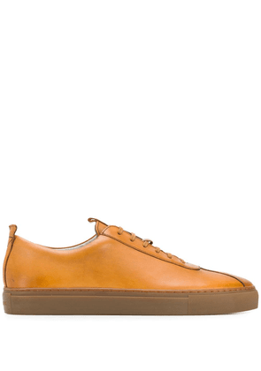 Grenson classic lo-top sneakers - Brown
