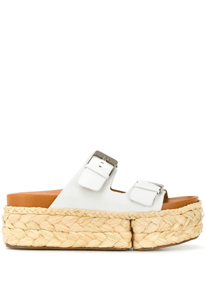Clergerie Abby sandals - White