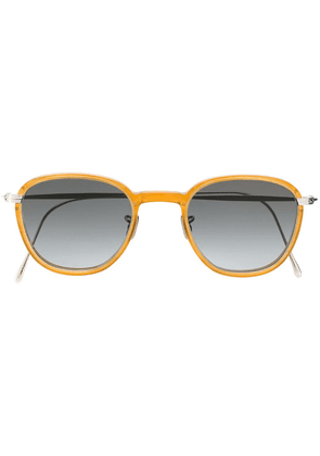 Eyevan7285 round frame sunglasses - Orange