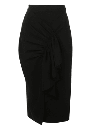 Christian Siriano constructed pencil skirt - Black