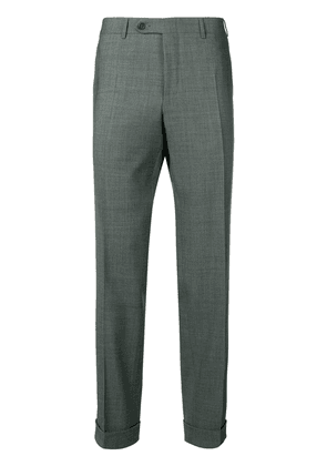 Canali smart trousers - Green