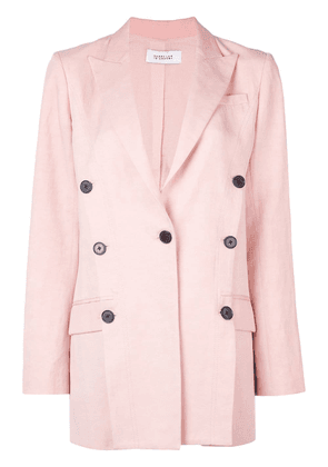 Derek Lam 10 Crosby Oversized Double-Breasted Blazer - Pink
