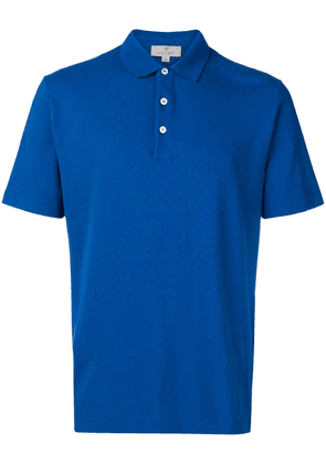 Canali classic polo shirt - Blue