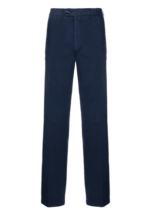 Canali smart trousers - Blue