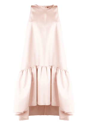 No21 satin trapeze dress - Pink