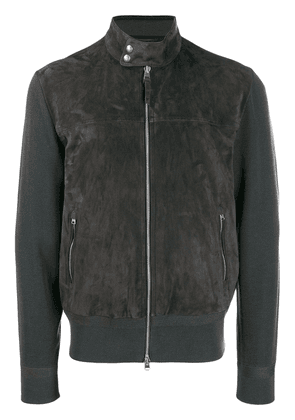 Tom Ford zipped fitted jacket - Grey