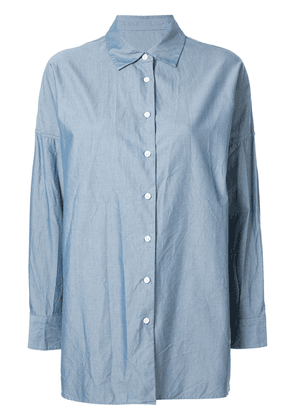 Casey Casey Henrietta dropped shoulder shirt - Blue