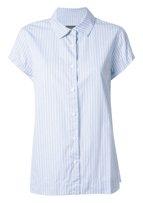 Casey Casey Chloe short sleeve shirt - Blue