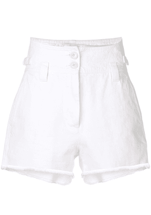 Givenchy high waisted shorts - White