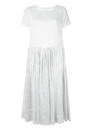 Casey Casey Pasha striped dress - White