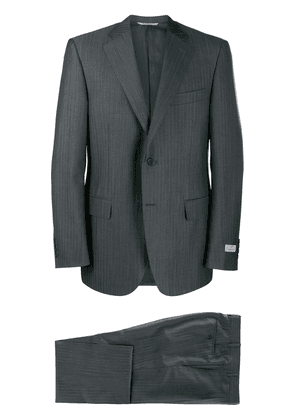 Canali striped two-piece suit - Grey