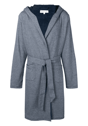 Hamilton And Hare Towelling Robe - Blue