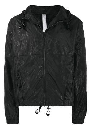 Cottweiler printed hooded track jacket - Black