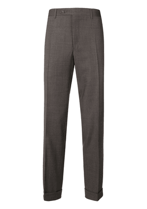 Canali smart trousers - Brown