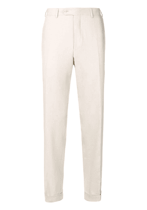 Canali smart trousers - Neutrals