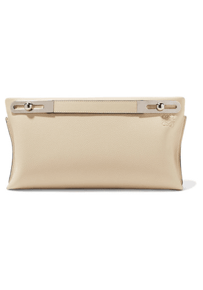 Loewe - Missy Small Textured-leather Shoulder Bag - Ivory