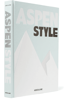 Assouline - Aspen Style By Aerin Lauder Hardcover Book - Gray