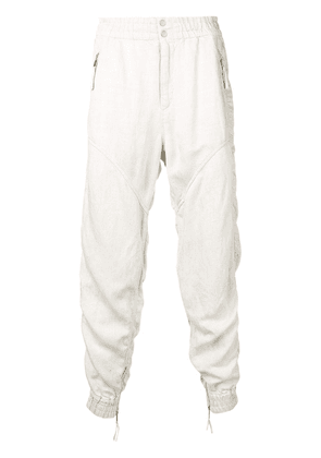 Isabel Marant gathered jogger-style trousers - Neutrals