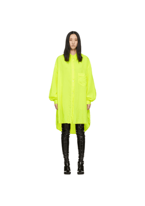 MM6 Maison Margiela Yellow Shirt Dress