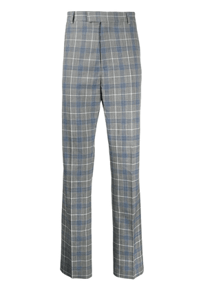 Band Of Outsiders check tuxedo trousers - Grey