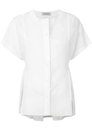 Gentry Portofino short sleeve shirt - White