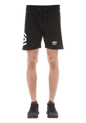 Cotton Jersey Shorts W/ Striped Details