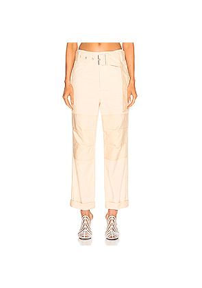 Proenza Schouler PSWL High Waisted Utility Belt Pant in Neutral