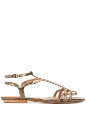 Chie Mihara flat sandals - Gold