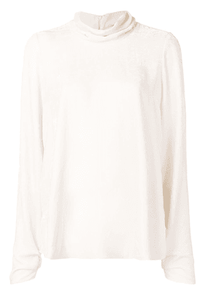 Forte Forte roll neck top - White