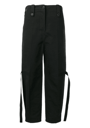 Givenchy tie details trousers - Black