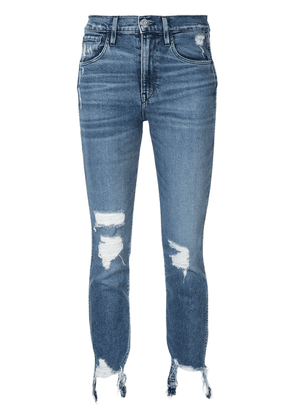 3x1 Straight Authentic cropped jeans - Blue
