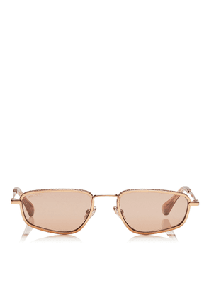 GAL Pink Flash Silver Fashion Sunglasses with Gold Pink Frame