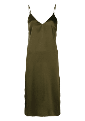 Anine Bing Gemma slip dress - Green