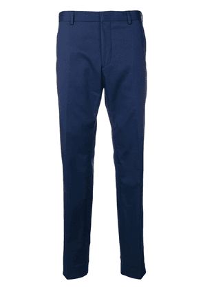 Calvin Klein slim-fit tailored trousers - Blue