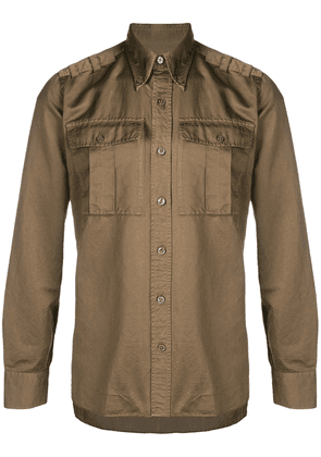 Tom Ford military style shirt - Green