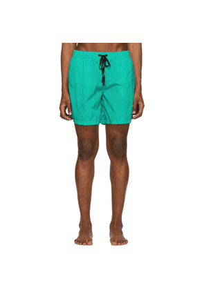 Everest Isles Green 15' Swimmer Shorts