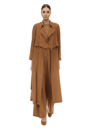 Wool & Cashmere Trench Coat