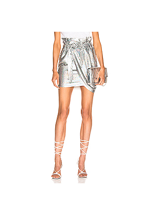 IRO Mahont Skirt in Metallic