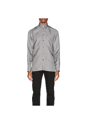 VERSACE Shirt in Abstract,Black,White